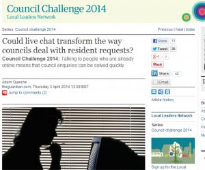 guardian leeds city council's live chat
